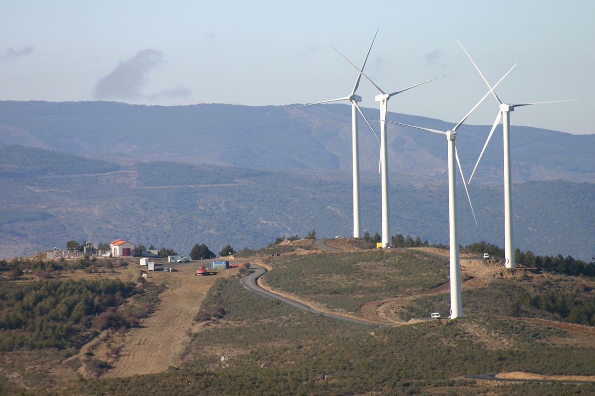 Parque eólico Préjano/Enciso
