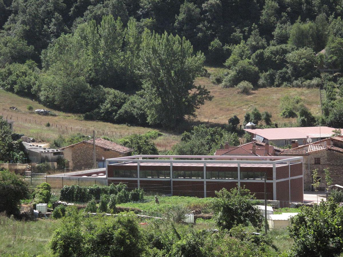 Centro interpretación de Corres. Parque Natural de Izki.